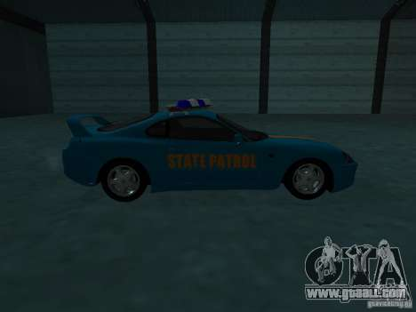 Toyota Supra California State Patrol for GTA San Andreas side view
