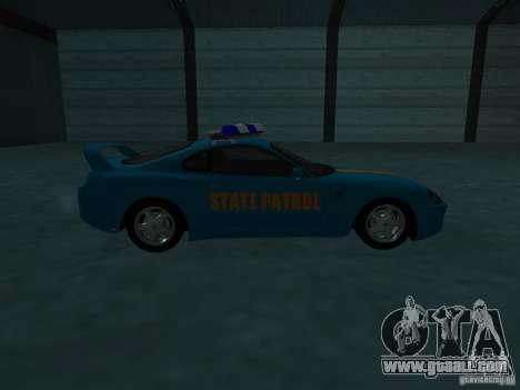 Toyota Supra California State Patrol for GTA San Andreas side view