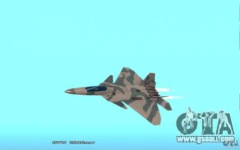 F/A-22 Velociraptor for GTA San Andreas