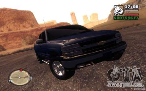 Chevrolet Silverado 2000 for GTA San Andreas