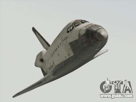 Space Shuttle for GTA San Andreas right view