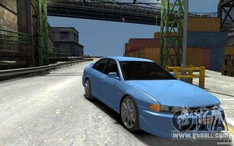Mitsubishi Galant 8 VR-4 for GTA 4 back view