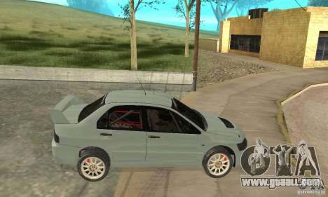 Mitsubishi Lancer Evolution IX for GTA San Andreas back left view