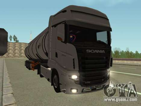 Scania R700 Euro 6 for GTA San Andreas back left view