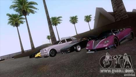 Rolls Royce Phantom Hamann for GTA San Andreas wheels
