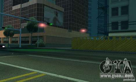 Purple lights for GTA San Andreas