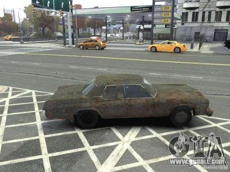 Dodge Monaco 1974 Rusty for GTA 4 left view