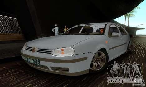 Volkswagen Golf 4 1.6 for GTA San Andreas