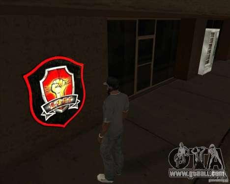 Graffiti stalkers for GTA San Andreas
