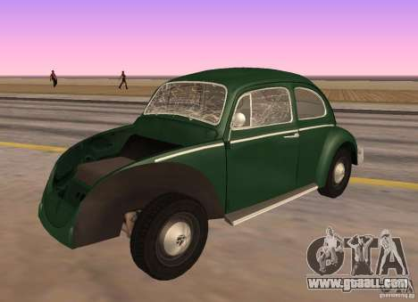 Volkswagen Beetle 1963 for GTA San Andreas right view