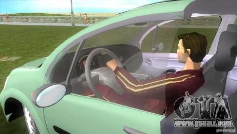 Citroen C3 for GTA Vice City back left view