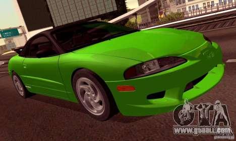 Eagle Talon TSi AWD 1998 for GTA San Andreas wheels