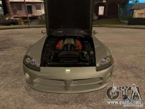 Dodge Viper Coupe 2008 for GTA San Andreas right view