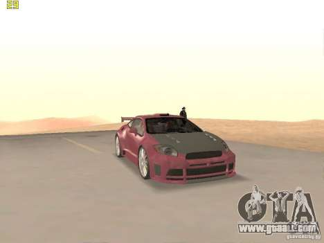 Mitsubishi Eclipse GT NFS-MW for GTA San Andreas side view