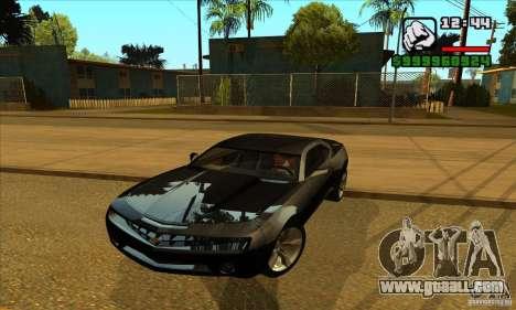 Chevrolet Camaro Concept Z06 2007 for GTA San Andreas