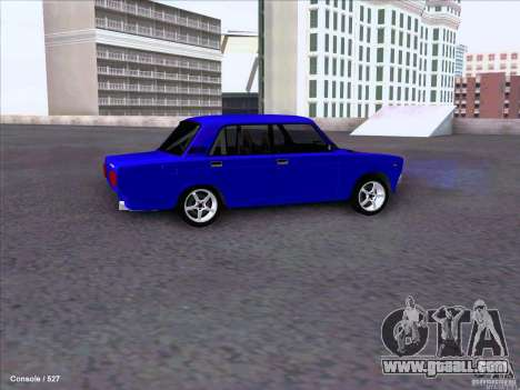 ВАЗ 2107 Drift for GTA San Andreas back view
