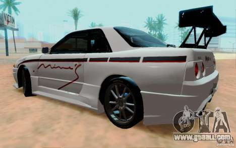 Nissan Skyline GT-R R32 1993 Tunable for GTA San Andreas left view