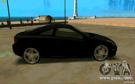 Toyota Celica 2005 for GTA San Andreas left view