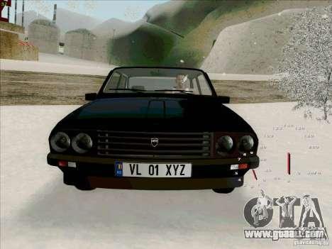 Dacia 1310 Sport for GTA San Andreas inner view