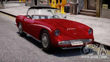 FSO Syrena Sport 1960 for GTA 4 back view