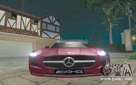 Mercedes-Benz SLS AMG 2011 V3.0 for GTA San Andreas left view