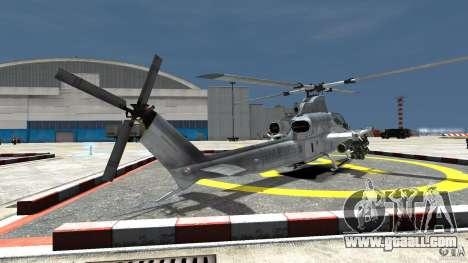Bell AH-1Z Viper for GTA 4 back left view