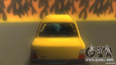 VAZ 1111 Oka Sedan for GTA Vice City back view