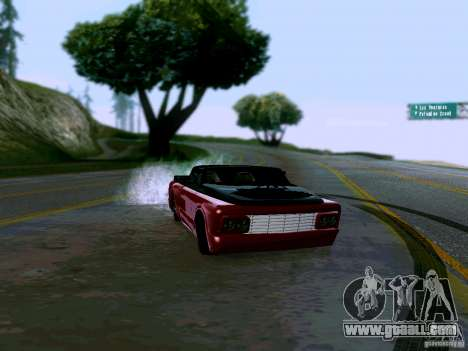 Slamvan Tuned for GTA San Andreas right view