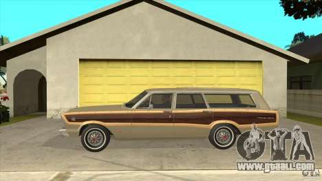 Ford Country Squire 1966 for GTA San Andreas left view