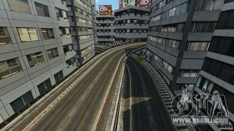 Tokyo Freeway for GTA 4 forth screenshot