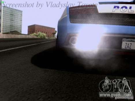Lamborghini Gallardo LP560-4 Polizia for GTA San Andreas side view
