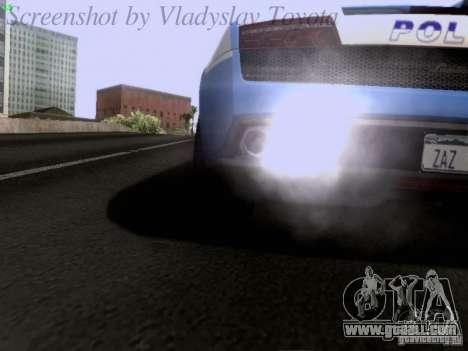 Lamborghini Gallardo LP560-4 Polizia for GTA San Andreas side view
