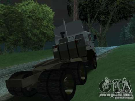 KAMAZ 5410 for GTA San Andreas right view
