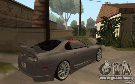 Toyota Supra Rz The Bloody Pearl 1998 for GTA San Andreas right view