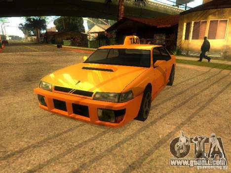 Taxi Sultan for GTA San Andreas left view