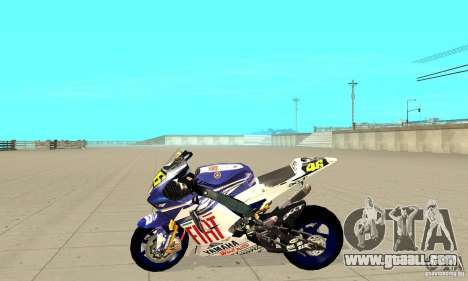 Honda Valentino Rossi Nrg500 for GTA San Andreas left view