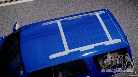 Lincoln Navigator 2004 for GTA 4 upper view