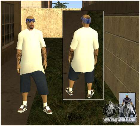 Skin Pack Getto for GTA San Andreas eleventh screenshot