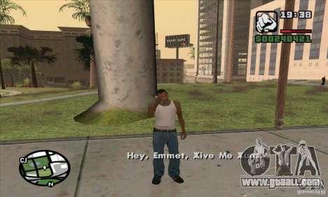 Gun Seller for GTA San Andreas