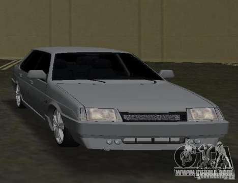 VAZ 21099 for GTA Vice City right view