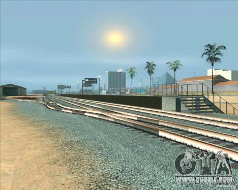 The high platforms at railway stations for GTA San Andreas sixth screenshot