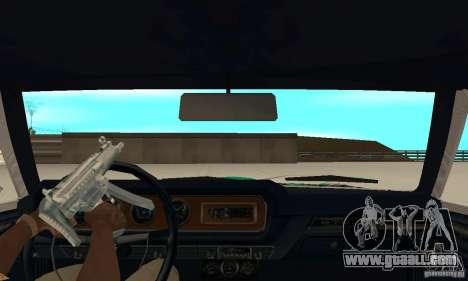 Pontiac GTO 1965 Speed King-NFS Pro Street for GTA San Andreas back view