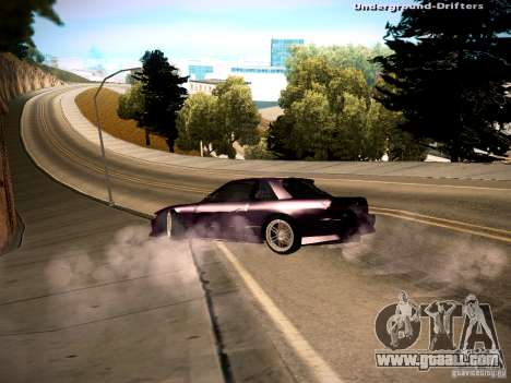 Nissan Silvia S13 Tandem Of DIE for GTA San Andreas left view