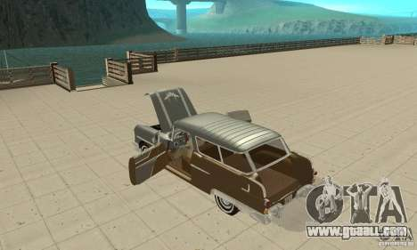 Pontiac Safari 1956 for GTA San Andreas inner view