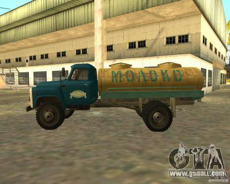 GAZ 53-12 TRUCK-3 for GTA San Andreas left view