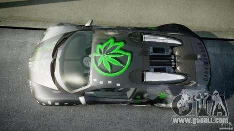 Bugatti Veyron 16.4 v1.0 new skin for GTA 4 right view