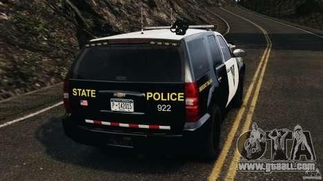 Chevrolet Tahoe Marked Unit [ELS] for GTA 4 back left view
