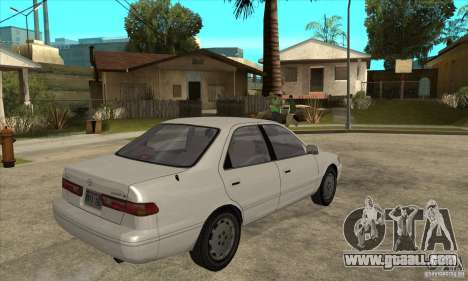 Toyota Camry 2.2 LE 1997 for GTA San Andreas right view