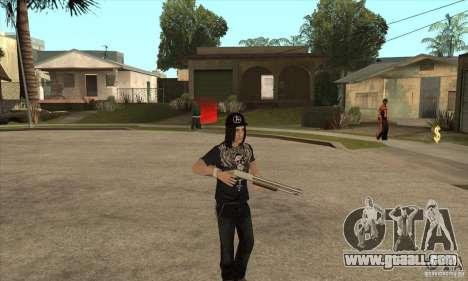 Criss Angel Skin for GTA San Andreas third screenshot