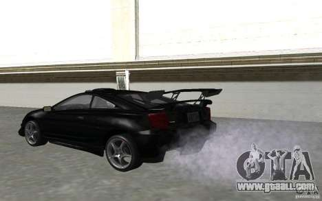Toyota Celica for GTA San Andreas side view